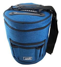 BEST KNITTING BAG FOR YARN STORAGE. Portable, Light and Easy